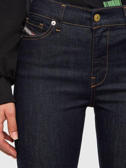 Diesel - D-Roisin 0098L, Dark Blue - Jeans - Image 3