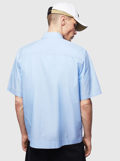Diesel - S-FRY-FLUO, Light Blue - Shirts - Image 2