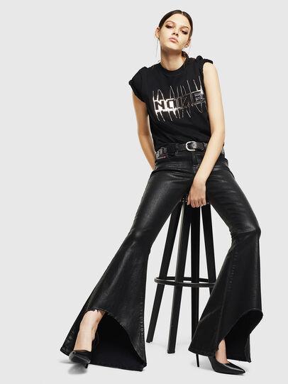 Diesel - D-Ferenz 0091G, Black/Dark grey - Jeans - Image 4