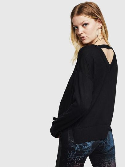 Diesel - M-PERLA, Black - Knitwear - Image 2