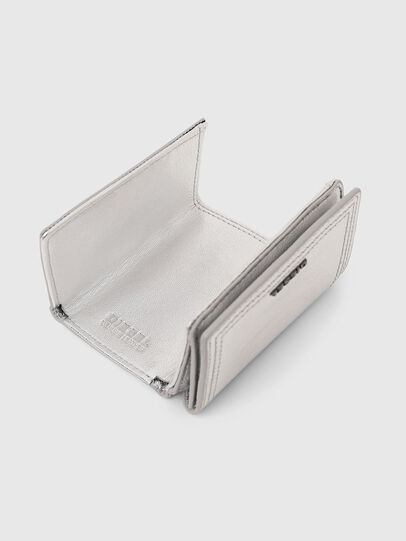 Diesel - LORETTINA, Silver - Small Wallets - Image 4