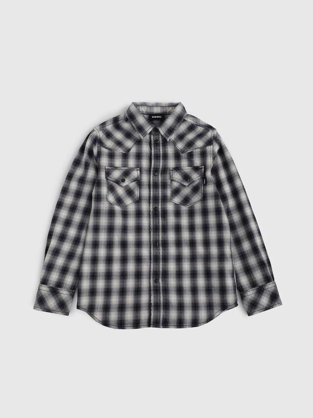 Diesel - CSEAST, Black/White - Shirts - Image 1