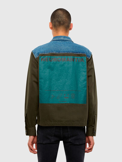 Diesel - S-COVIL, Military Green - Shirts - Image 2