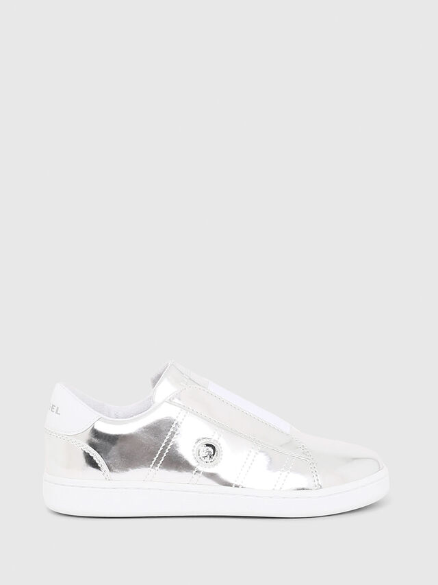 Diesel - SLIP ON 11 FULL COLO, Silver - Footwear - Image 1