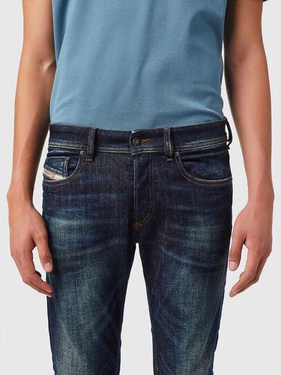 Diesel - Sleenker 09B07, Dark Blue - Jeans - Image 3