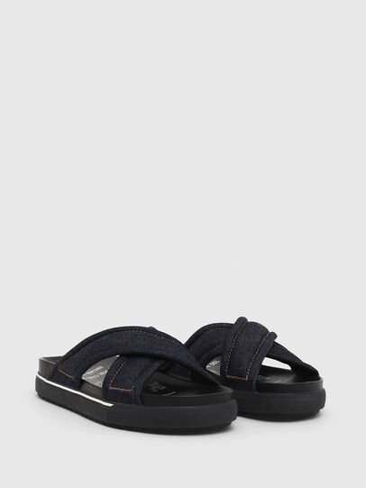 Diesel - SA-GRAND X, Blue Jeans - Sandals - Image 2