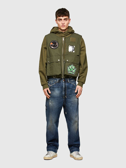 Diesel - J-LUKI, Olive Green - Jackets - Image 6