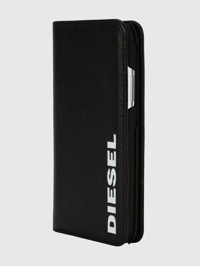 Diesel - DIESEL 2-IN-1 FOLIO CASE FOR IPHONE XS & IPHONE X, Black/White - Flip covers - Image 3