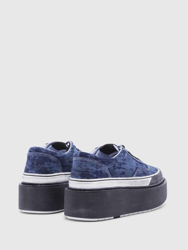 Diesel - H-SCIROCCO LOW, Blue - Sneakers - Image 3
