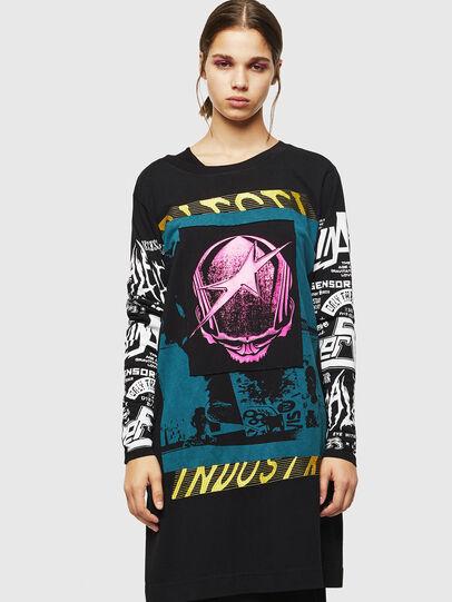 Diesel - T-PAISS, Black - T-Shirts - Image 1