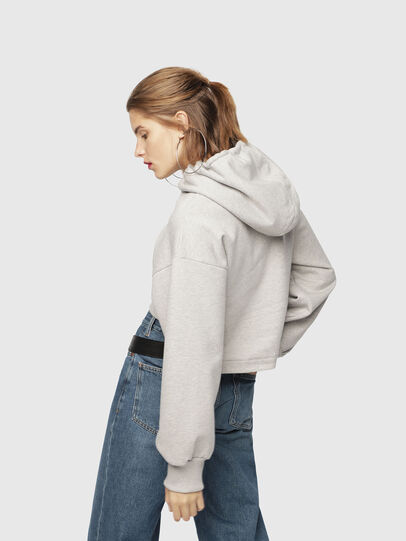 Diesel - F-DINIE-A, Light Grey - Sweaters - Image 2
