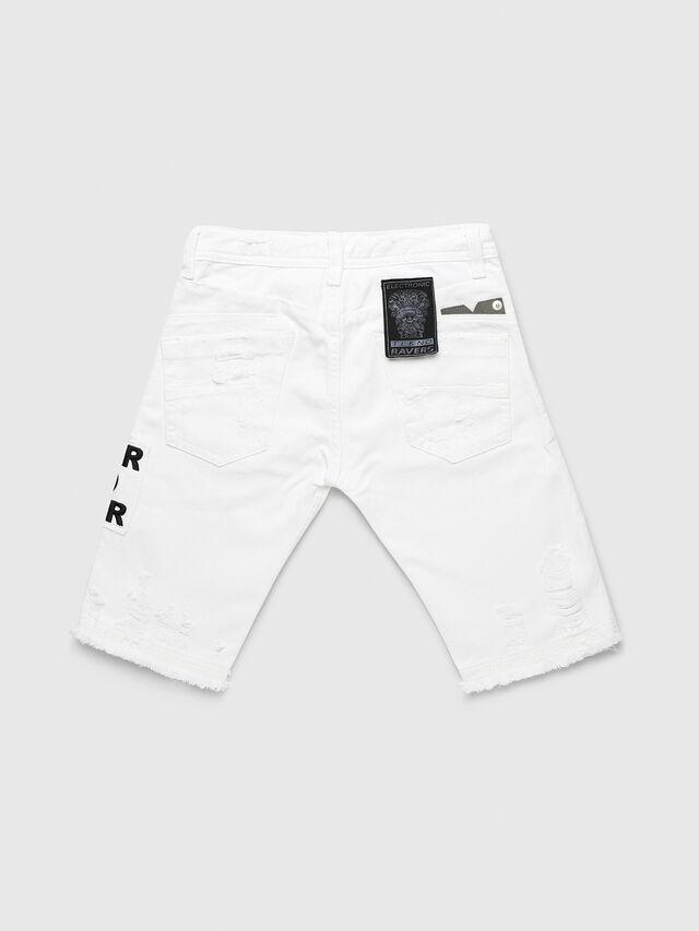 Diesel - DARRON-R-J SH-N, White - Shorts - Image 2