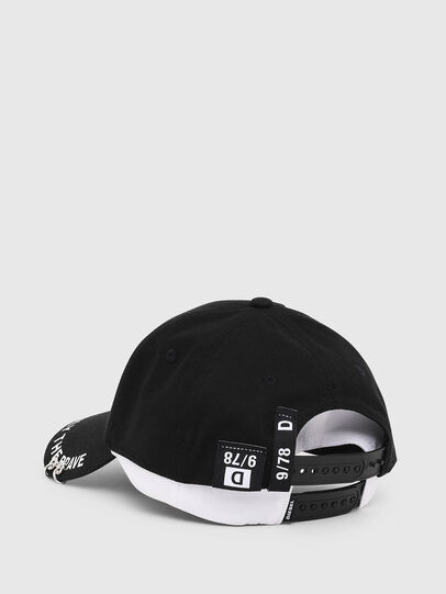 Diesel - CEDOUBLE, Black/White - Caps - Image 2