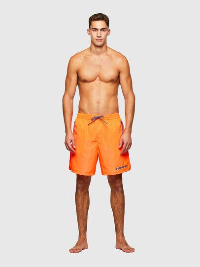 Diesel - BMBX-DOLPH, Orange - Swim shorts - Image 1