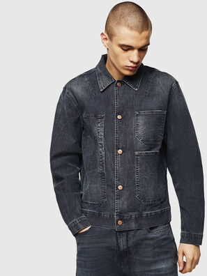 D-ROKU JOGGJEANS, Dark Blue - Denim Jackets