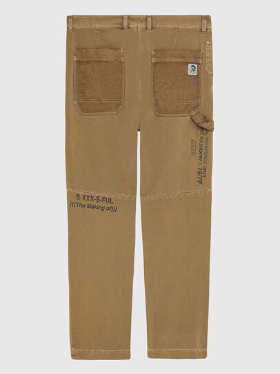 Diesel - P-TRENT, Light Brown - Pants - Image 2
