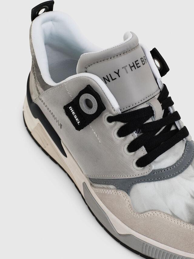 Diesel - S-BRENTHA LC, Light Grey - Sneakers - Image 5