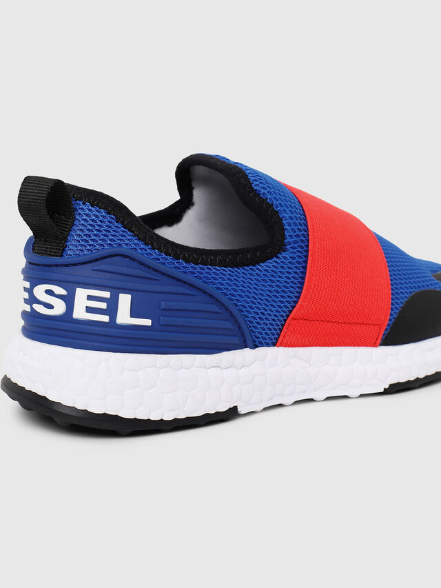 Diesel - SN SLIP ON 16 ELASTI, Blue/Red - Footwear - Image 4