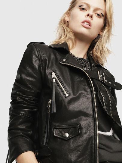 Diesel - SE-LENE,  - Leather jackets - Image 5
