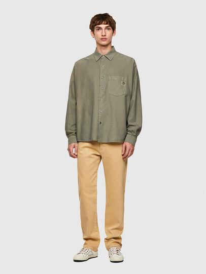 Diesel - S-LOOMY-B, Military Green - Shirts - Image 4