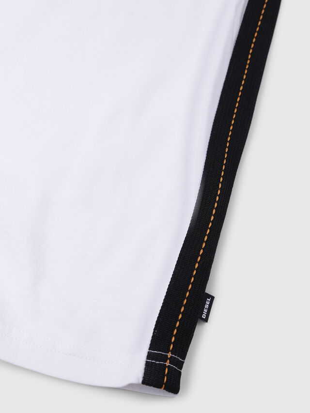 Diesel - TJUSTAPE, White - T-shirts and Tops - Image 3