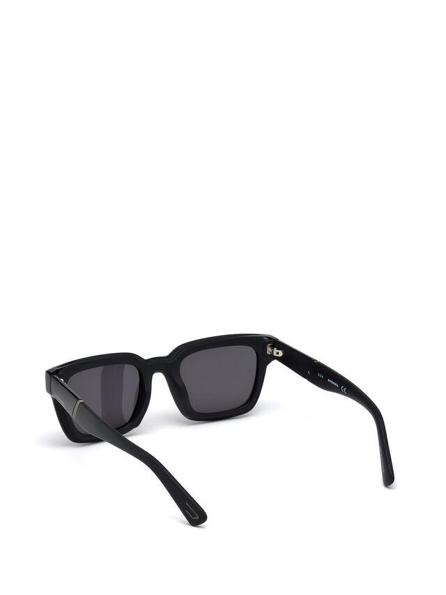 Diesel DL0231, Black - Eyewear - Image 2