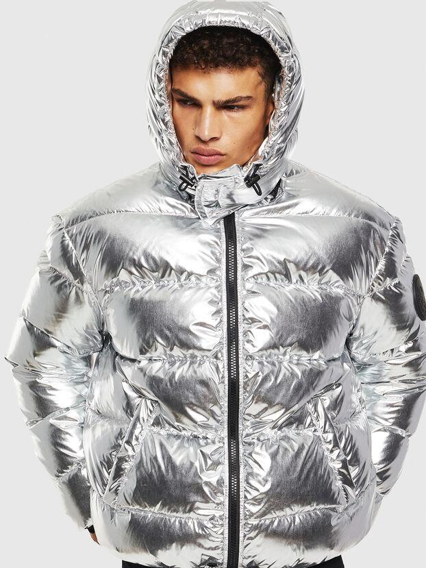 W-SMITH-SILVER, Silver - Winter Jackets