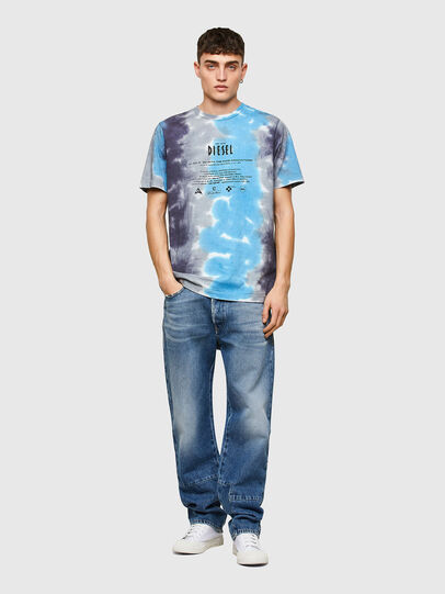 Diesel - T-JUST-E13, Grey/Blue - T-Shirts - Image 4
