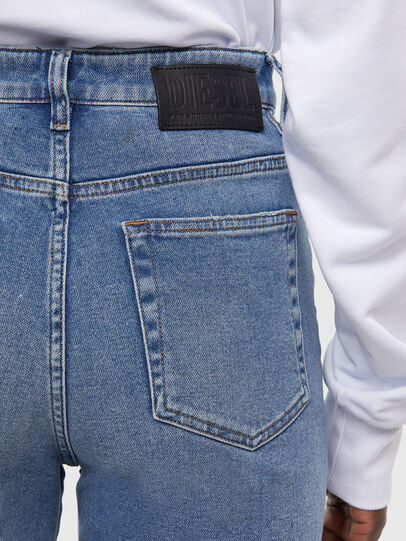 Diesel - D-Eiselle JoggJeans 009KP, Light Blue - Jeans - Image 5
