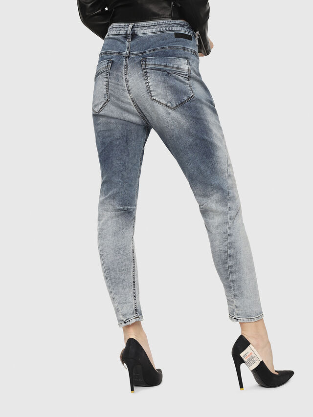 Diesel - Fayza JoggJeans 069FC, Light Blue - Jeans - Image 2