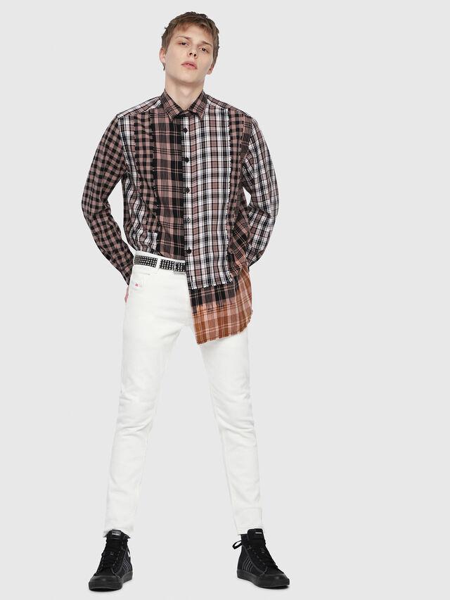Diesel - Krooley JoggJeans 088AZ, White - Jeans - Image 4