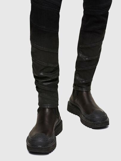 Diesel - D-Amny 009RA, Black/Dark grey - Jeans - Image 5