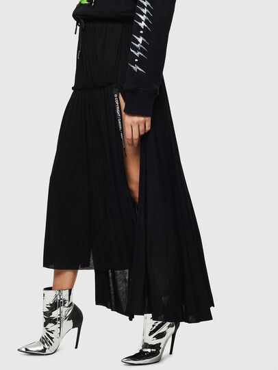 Diesel - O-FRIDA, Black - Skirts - Image 3