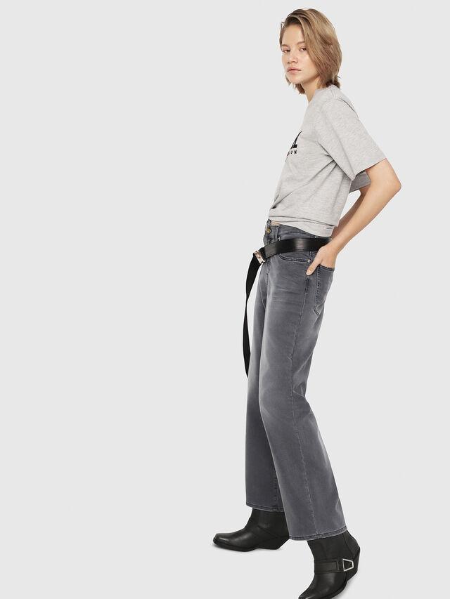Diesel - Widee JoggJeans 069EH, Black/Dark grey - Jeans - Image 4