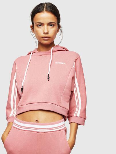Diesel - UFLT-VERTIX-CROP, Pink - Sweaters - Image 1