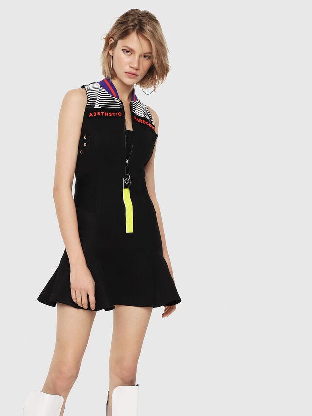 Diesel - D-MANA, Black - Dresses - Image 1