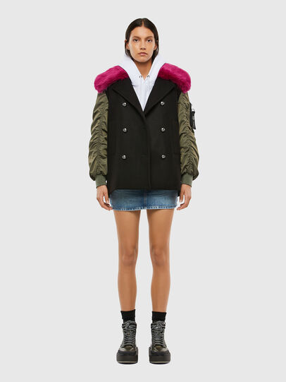 Diesel - W-AMARAL, Black - Winter Jackets - Image 7