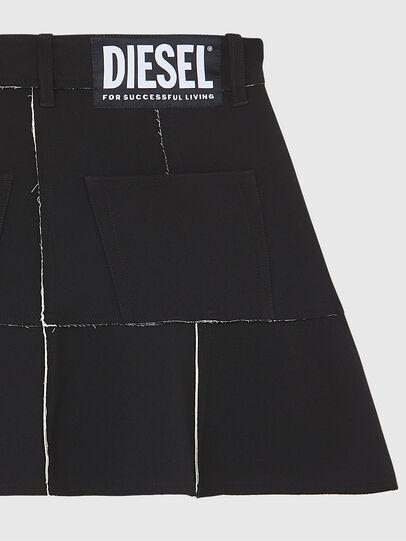 Diesel - O-BETH-B, Black - Skirts - Image 4