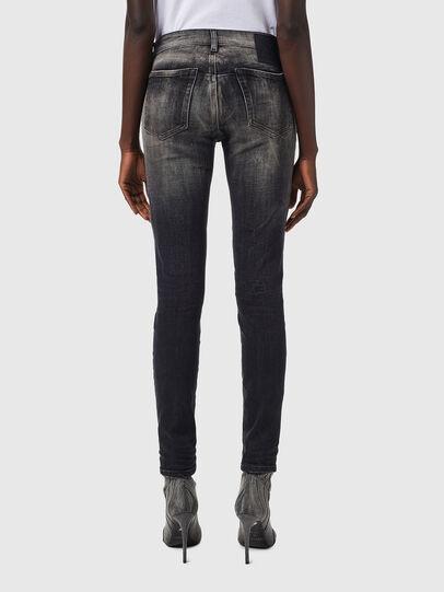 Diesel - D-Jevel 09B18, Black/Dark grey - Jeans - Image 2