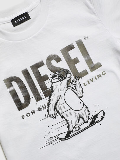 Diesel - TBEAR-TSE, White - T-shirts and Tops - Image 3