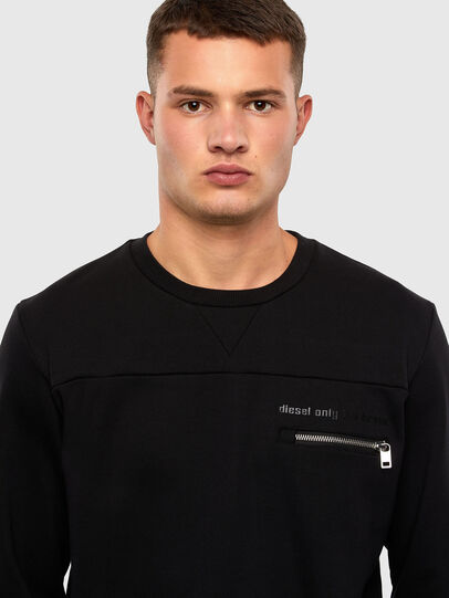 Diesel - S-CORINNE, Black - Sweaters - Image 3
