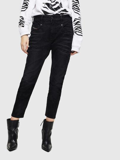 Diesel - Fayza 0091I, Black/Dark grey - Jeans - Image 1