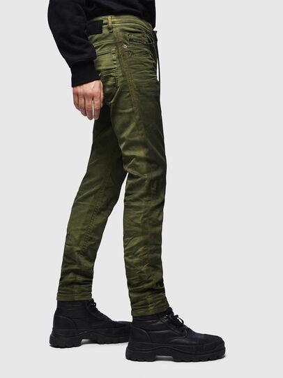 Diesel - Thommer JoggJeans 069MM, Green - Jeans - Image 5