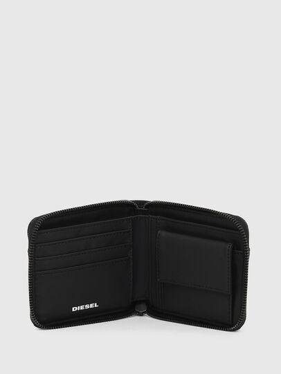 Diesel - ZIPPY HIRESH S, Dark Blue - Zip-Round Wallets - Image 3
