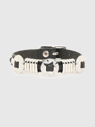 Diesel - A-BLOSSY, Black/Silver - Bijoux and Gadgets - Image 1