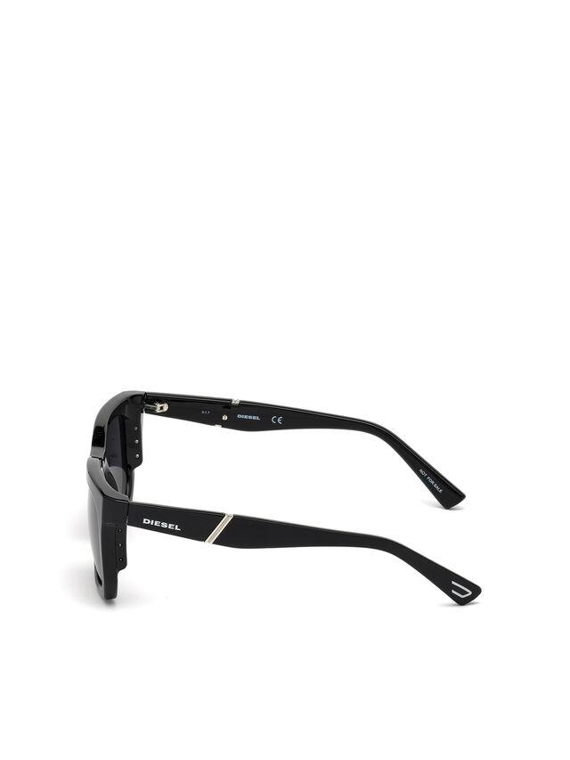 Diesel DL0254, Black - Eyewear - Image 3