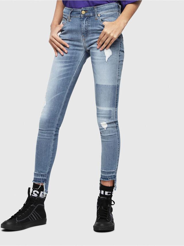 Diesel - Slandy 086AH, Light Blue - Jeans - Image 1
