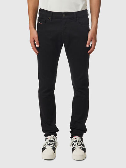 Diesel - D-Istort 069EF, Black/Dark grey - Jeans - Image 1
