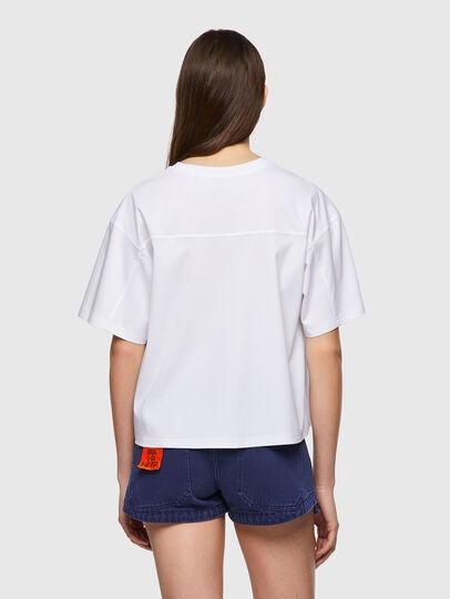 Diesel - T-BOWBOW, White - T-Shirts - Image 2