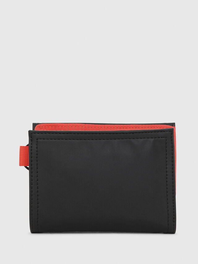 Diesel - YOSHI, Black/Red - Small Wallets - Image 2